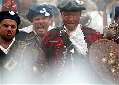 Culloden filming - Pictures by Dougie Johnston