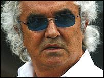 Renault F1 boss Flavio Briatore