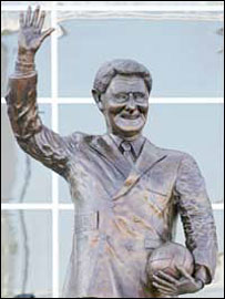 Ted Bates' statue