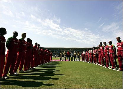 Zimabawe and West Indies players and match officials remember Bob Woolmer