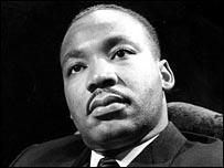 Martin Luther King Jr was the civil rights movement leader in America