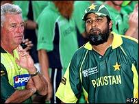 Bob Woolmer and Inzamam-ul-Haq