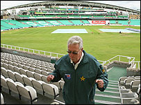 Bob Woolmer at The Oval
