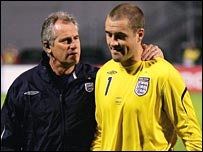 Ray Clemence and Paul Robinson