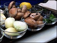 Fresh ingredients for Chicken Tonight