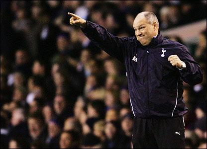 Spurs boss Martin Jol