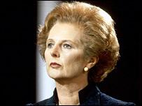 Margaret Thatcher en 1981