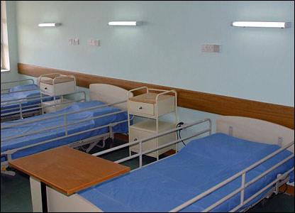New beds in Medical City, Baghdad (Pic: Dr Ameir Al-Mukhtar)