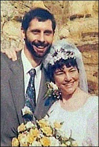 Richard and Linda Weeks on their wedding day in 1993