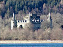 Inveraray Castle (Pic: Undiscovered Scotland)