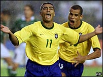 Romario in a 2000 file photo