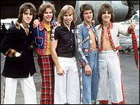 The Bay City Rollers in 1975