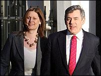 Gordon Brown and wife Sarah
