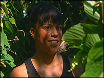 Ms Dynamite in a Jamaican jungle
