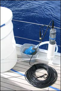 Sampling equipment. Image: J Craig Venter Institute
