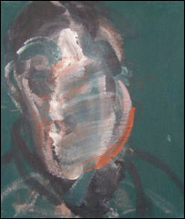 Study for a portrait by Francis Bacon (The Robertson Collection)