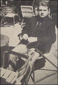 Photograph of Francis Bacon (The Robertson Collection)