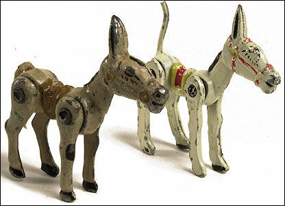 Two Sacul and Wend-Al, Muffin the Mules, part of lot, circa 1950 Estimate:  �200-300 (the lot)  (Christie's Images)