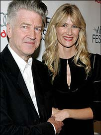 David Lynch and Laura Dern