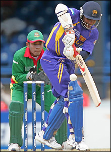 Sanath Jayasuriya helps himself to runs in Trinidad