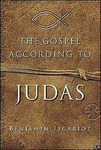 """Portada del libro """"Evangelio según Judas""""."""
