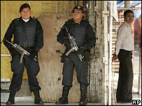 Police in Mexico City - file photo