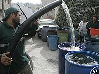 Distribución de agua en México