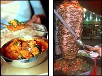 Curry or kebab?