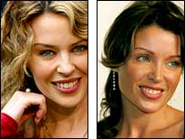 Kylie Minogue or sister Danni?