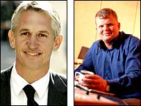 Gary Lineker or Adrian Chiles?
