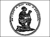 Wedgwood's anti-slavery logo