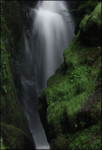 Waterfall (Image: BBC)