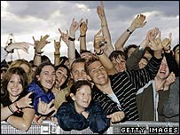 Crowds at Reading Festival 2006
