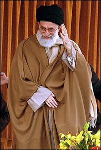 المرشد الأعلى للثورة الاسلامية في إيران أية الله علي خامنئي