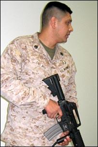 Staff Sergeant Alejandro Del Rio