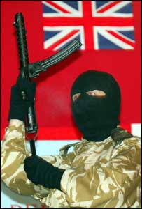 Thorny issue of UDA weapons was not mentioned in announcement
