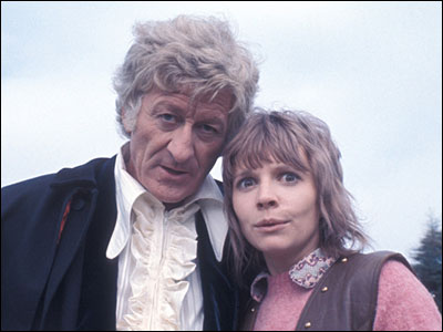 Jon Pertwee and Katy Manning
