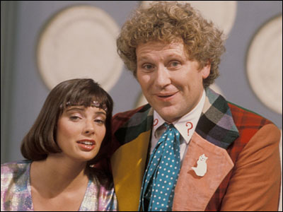 Peri and sixth Doctor
