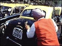 Delhi cab driver 1993