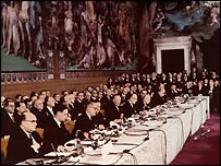 Signing of Treaty of Rome (Photo: European Commission)