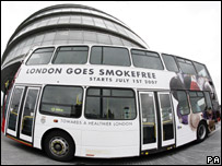 Smokefree bus