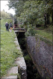 Part of the 14 Locks stretch to be restored