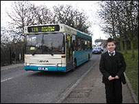 George and the bus