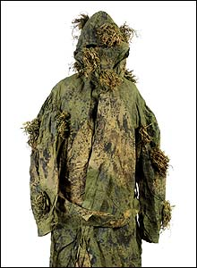 British World War I sniper's suit (image: Imperial war Museum)