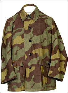 Italian World War II camouflage jacket (image: Imperial war Museum)