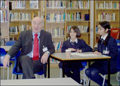 Steve Pound gives an exclusive interview to Sebi and Zaara