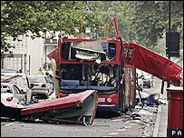 Bus attacked on 7 July 2005