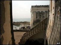 Замок рабовладельцев в Гане