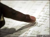 Списки рабов