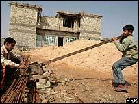 عمال عراقيون